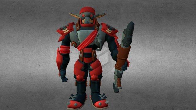 Krimzon Guard 3D Model