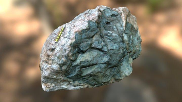 Granite/Greenstone Contact 3D Model