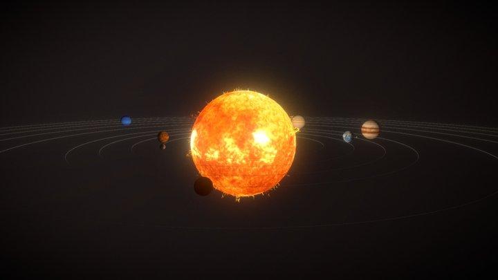 Notre Système Solaire 3D Model