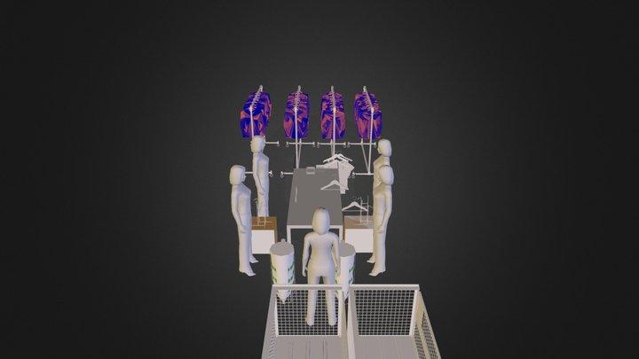 traitement textile.dae 3D Model