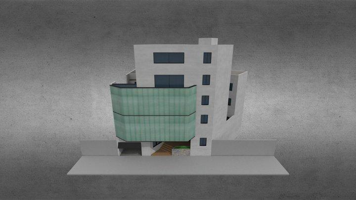 OLD model OumouInformatique building 3D Model