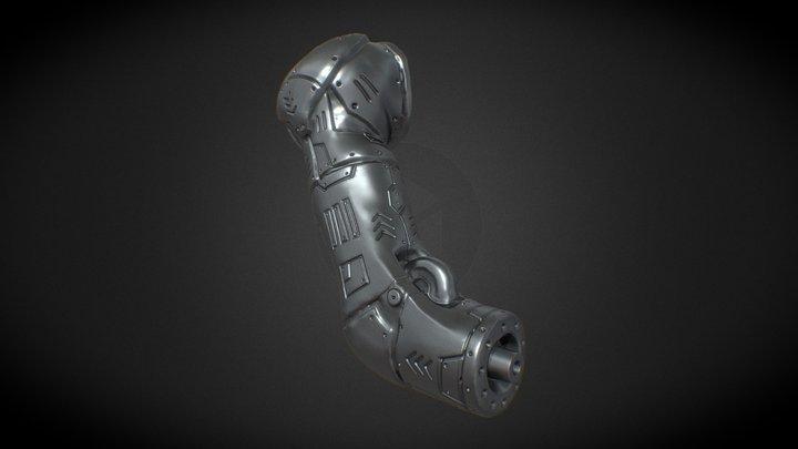 Day 3-Modular Limb (Sculpt January 2021) 3D Model
