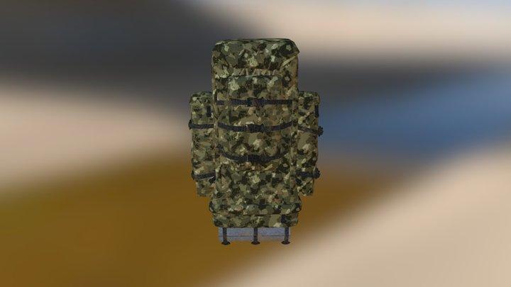 Backpack-3 3D Model