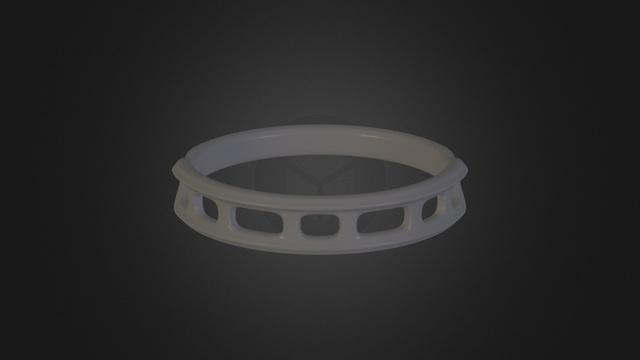 3D Printable Ring 3D Model