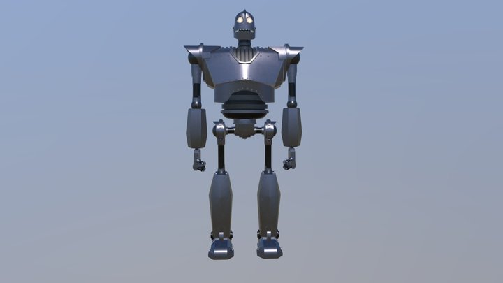 Iron Giant Anim 3D Model