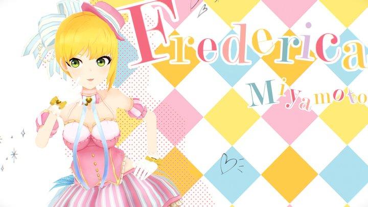 Frederica Miyamoto 3D Model