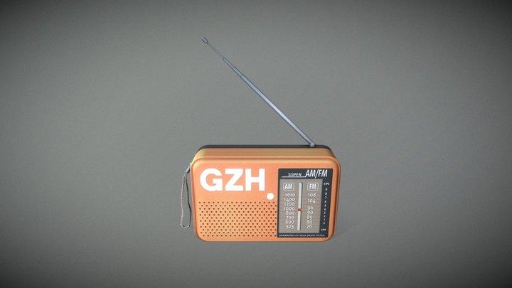 Radio Gzh 3D Model