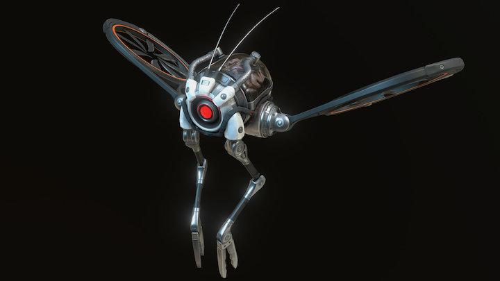 FLY Drone 3D Model