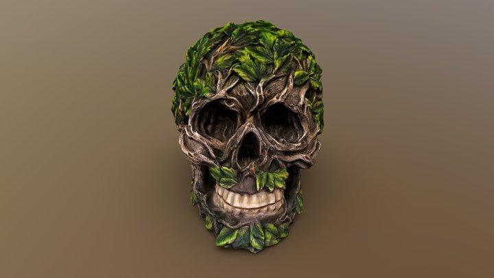 Forest Skull 3D Model