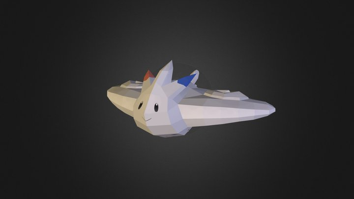 Togekiss *Textured* 3D Model