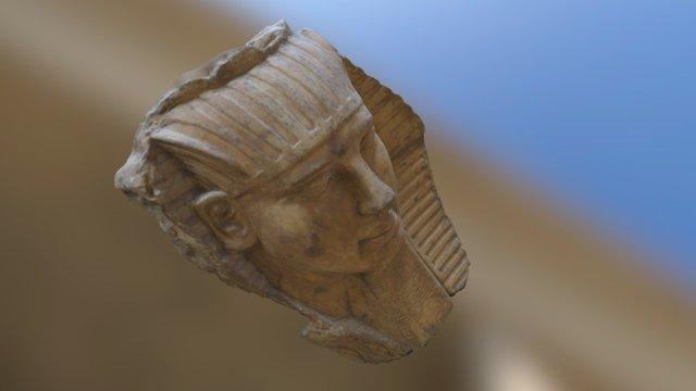 RAMSES II con textura 3D Model