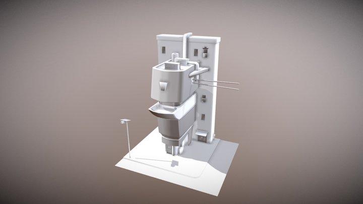 Splash Damage Art Challange 3D Model