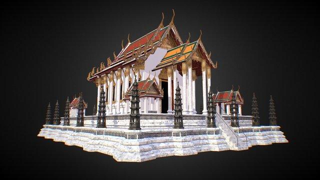 House Temple 3D Model