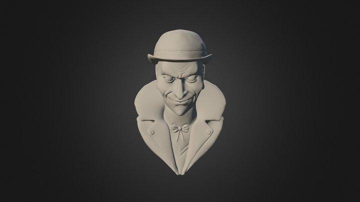 Freakshow Bust 3D Model