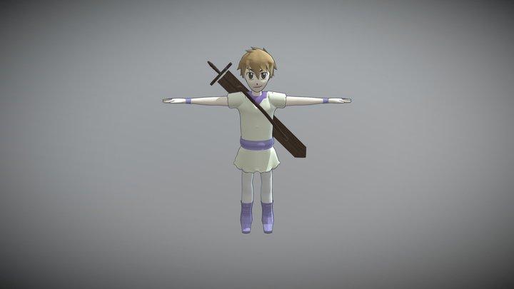 August 3D Model