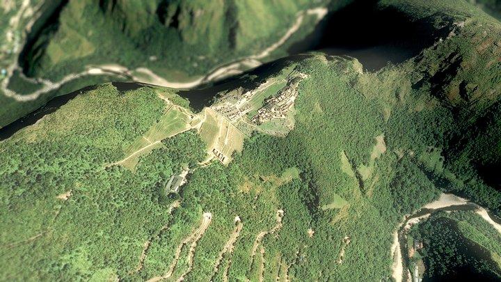 Machu Picchu - Peru, Andes Mountains 3D Model