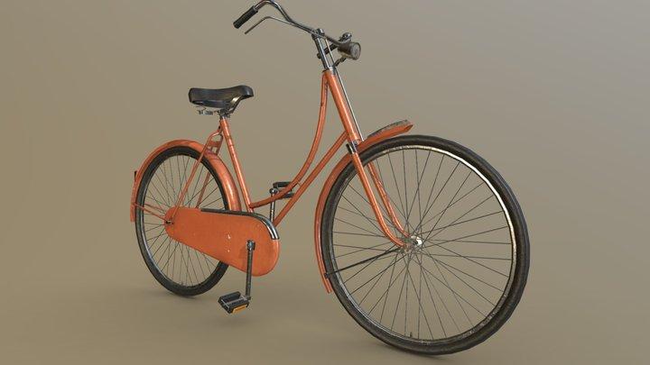 Bike, Dutch Bicycle 3D Model