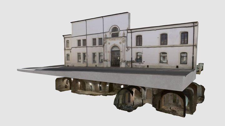 Nava del Rey - Casa de los Maestros 3D Model