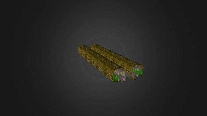 2222 3D Model