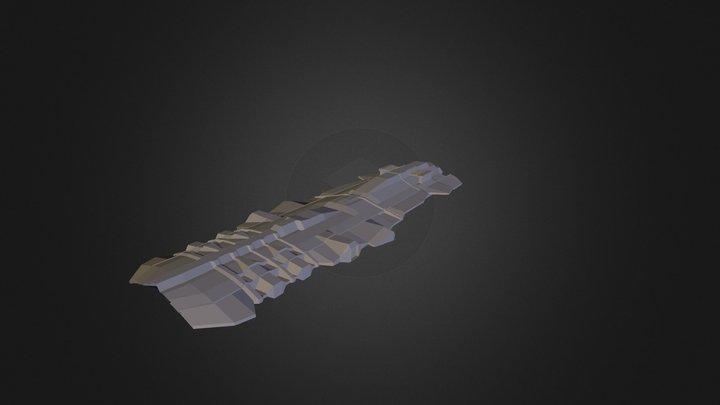 Invasion Force Carrier 3D Model