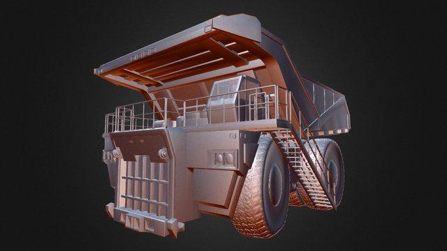 Mining Haul Truck 3D Model