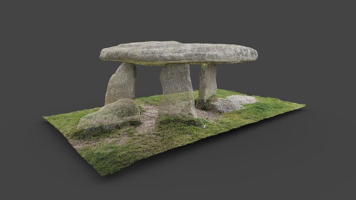 Lanyon Quoit - point cloud 3D Model
