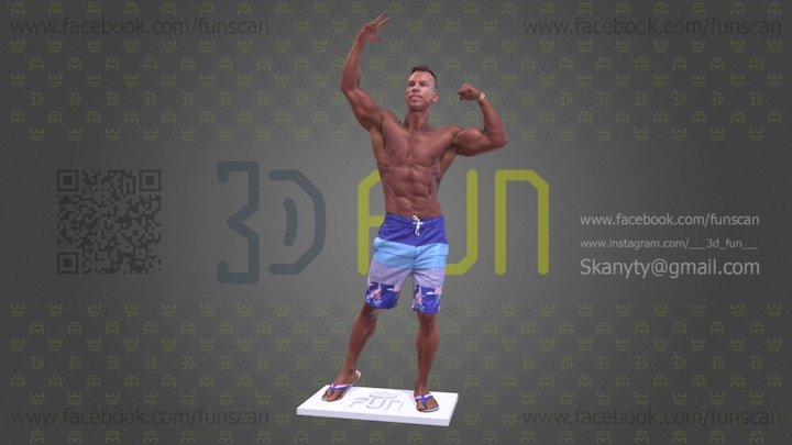 1060 Scan 172 3D Model