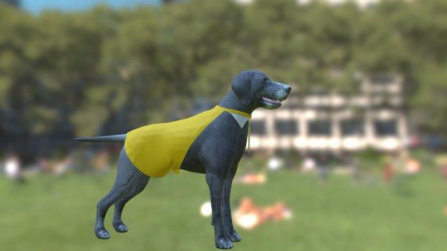 Dog man 3D Model