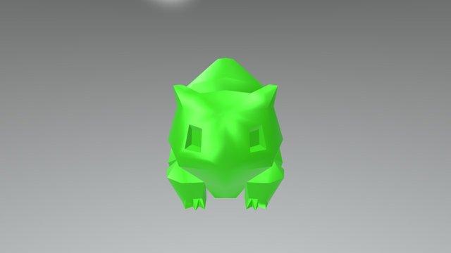 Bulbizarre 3D Model