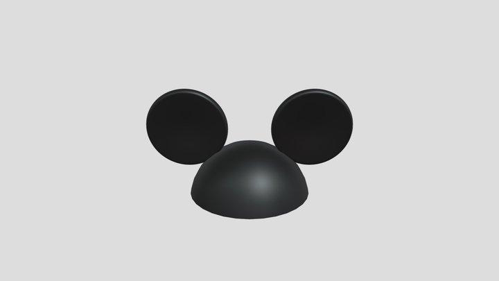 Mickey Mouse Ear Hat 3D Model