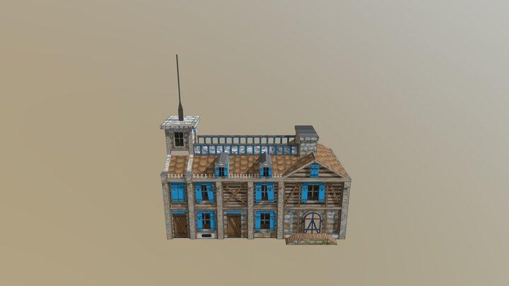 My Building Model 3D Model