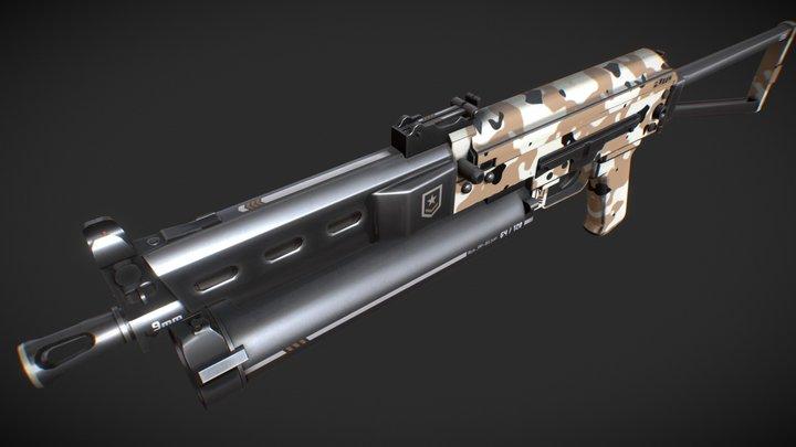 PP-Bizon // P80 3D Model