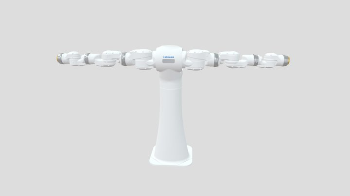 YASKAWA Robot No. CSDA10F 3D Model