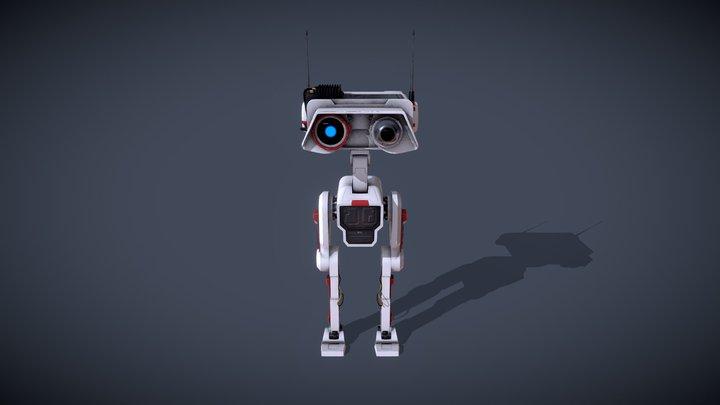 BD-1 Star Wars Fan art 3D Model