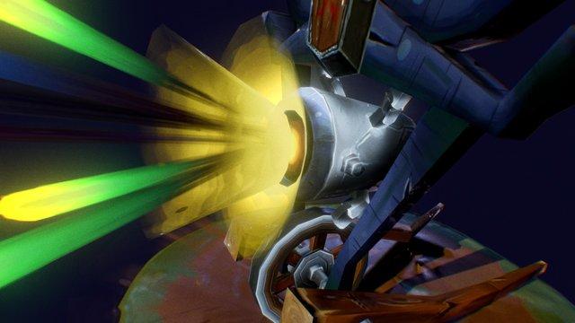 Firework Luncher 3D Model