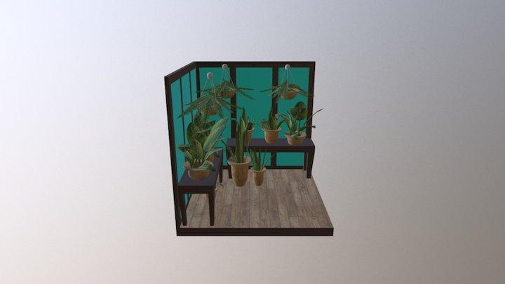 A1: Greenhouse 3D Model