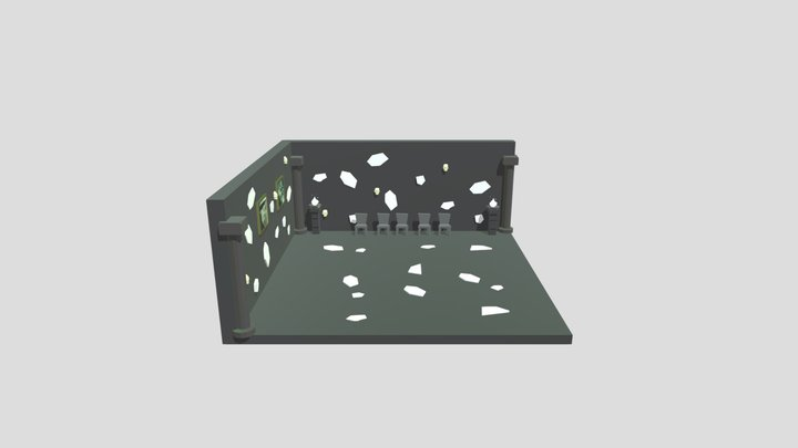 Nuromancer Lobby 3D Model