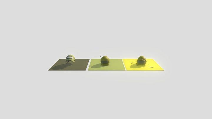 XYZ Homework Damages 3D Model
