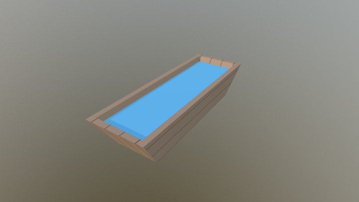 Water Bowl 3D Model