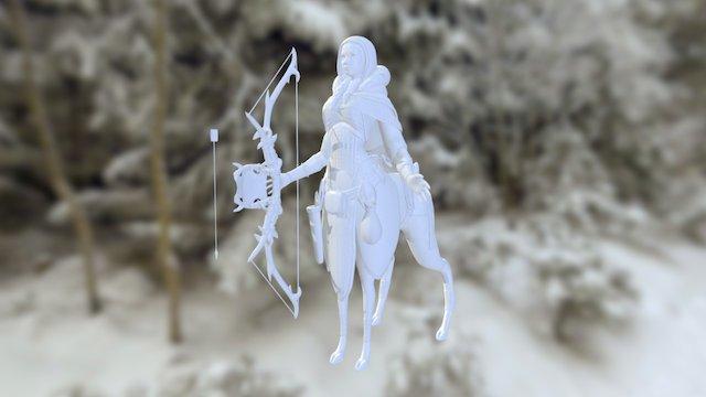 Centaur Archer 3D Model