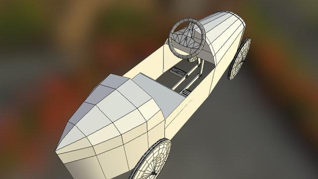 Pedal Car WIP 3D Model