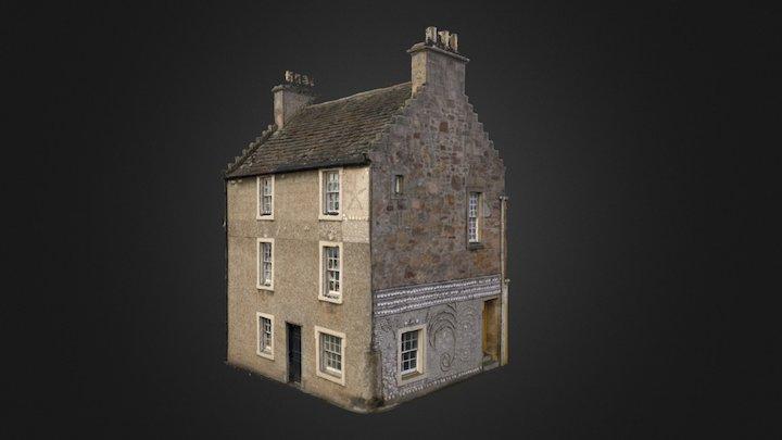 Buckie House, Anstruther, Fife 3D Model