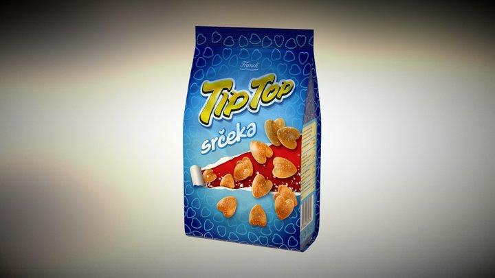 snacks bag test 3D Model