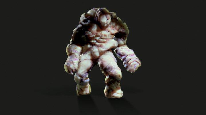 Blob Monster 3D Model