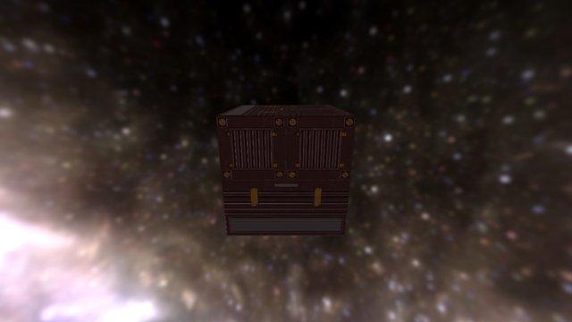 PBR cube 3D Model