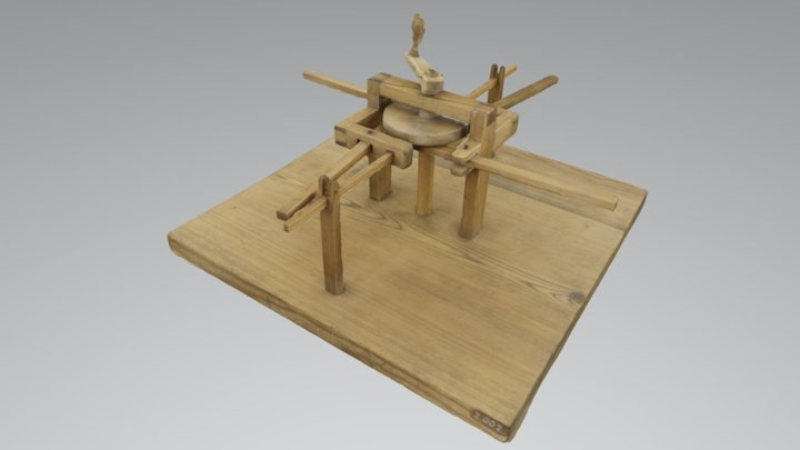 Mechanical alphabet, TM2002 3D Model