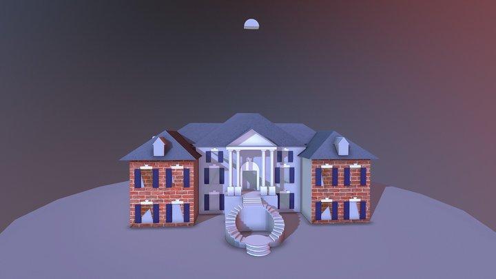 Building critique / Mansion (3) 3D Model