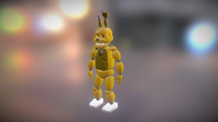 Springtrap Model V2.1 3D Model