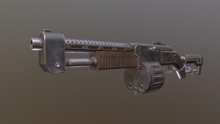 Shotgun (Fallout 4) 3D Model