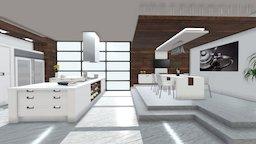 Progetto interno 360° - Rendering Evolution 3D Model